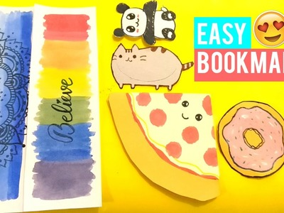 DIY:   3 Easy Bookmarks Anyone Can Make!