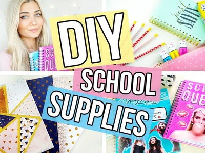 DIY Back To School Supplies | Quick & Easy