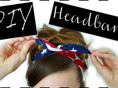 DIY Bandana Wire Headband
