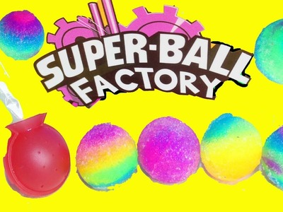DIY BOUNCY BALLS Rainbow Neon Colored Bouncy Balls Super Fun For Kids Craft