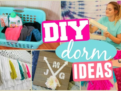 DIY Dorm Room Makeover! Decor & Organization Ideas