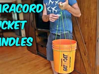 DIY Easy Paracord Bucket Handles