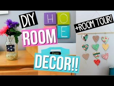 Diy Easy Room Decor Ideas!+ ROOM TOUR! Collab with glittterinmyhair