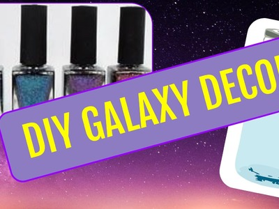 DIY GALAXY DECOR! | Mason Jar, Wall Art, + More! | #heyitsdiy
