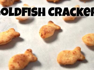 DIY GOLDFISH Crackers Recipe  - You Made What?!