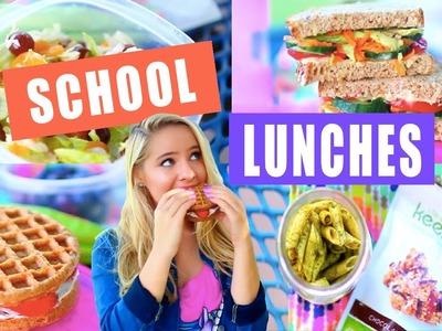 DIY Healthy School Lunch Ideas!