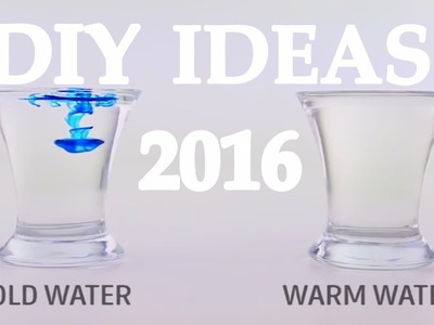 Diy ideas 2016 Incredibly beautiful tricks with water Wow!!! Awesome Life