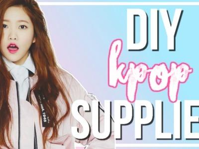 DIY K-Pop Back To School Supplies | BTS, BIGBANG, & More!