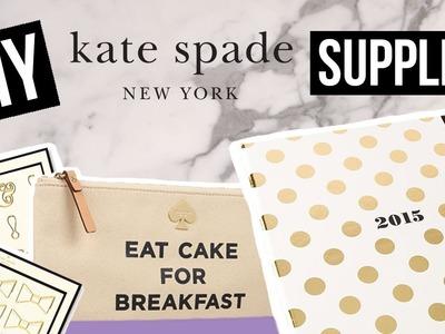 DIY Kate Spade School Supplies | Dana Jean