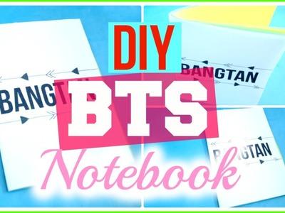 DIY KPOP. BTS Notebook | KpopStyled
