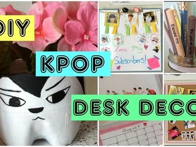 DIY Kpop Desk Decor | PrettyPrinceJin