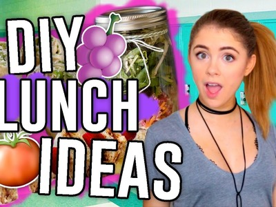 DIY Lunch Ideas for Back to School 2016!! Easy & Fast Lunches!. Jill Cimorelli