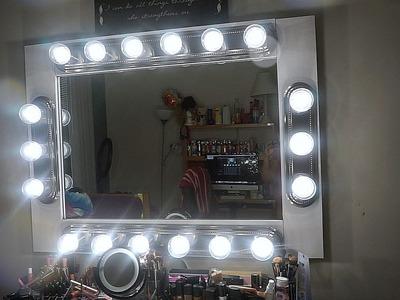 DIY: MAKEUP VANITY MIRROR WITH LIGHTS | UNDER $200 !