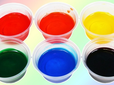DIY Rainbow BODY PAINT Made with Hand Sanitizer & Food Coloring! Fun & Easy Art Activity!