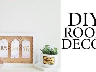 DIY Room Decor - Tumblr & Pinterest Inspired
