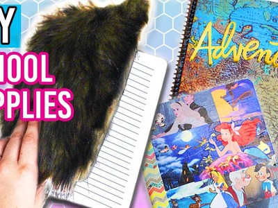 DIY School Supplies for Back To School! 6 DIY Notebooks