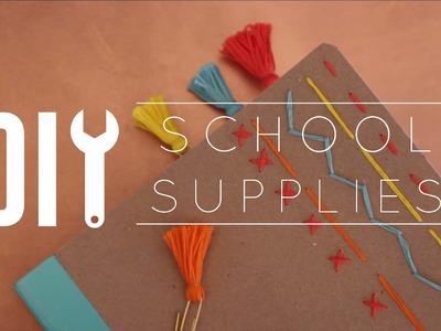 DIY School Supplies + GIVEAWAY