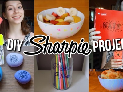 DIY Sharpie Projects! 5 Ways to Use Sharpie Pens!