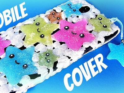DIY Silicone mobile cover kawaii.