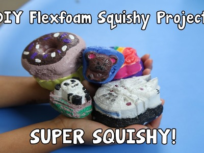 DIY Squishy! How to Make Tons of Squishies with Flexfoam-it! Awesome Project