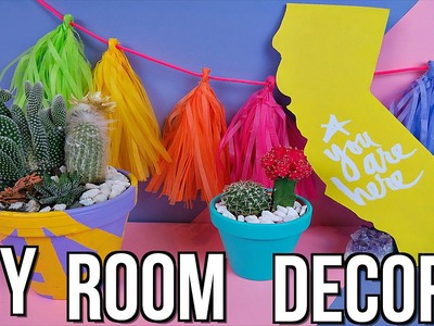 DIY Summer Room Decor! Summer 2016