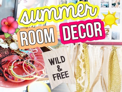 DIY SUMMER ROOM DECOR ✂ Urban Outfitters Inspired | LaurDIY