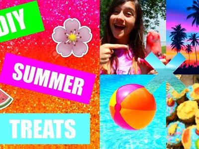 DIY SUMMER TREATS {Easy + Fun!}