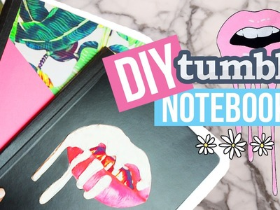DIY Tumblr Notebooks for Back To School 2016 | Dana Jean