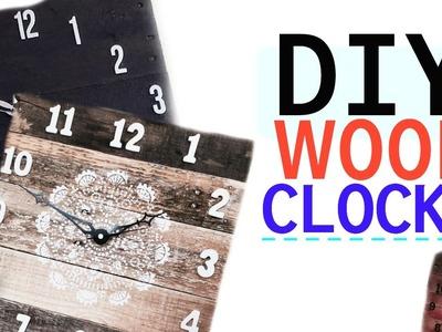 DIY Wood Clock!   Tay from Millennial Moms