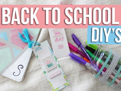 EASY BACK TO SCHOOl DIY'S | Sabrina Putri