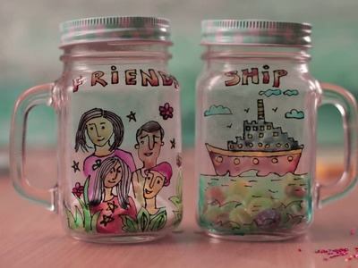 Gifts for Friendship Day - Mason Jar DIY