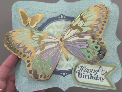 Gilded Movable Card Kit - Paper Wishes Weekly Webisodes
