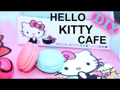 Hello Kitty Cafe   DIY American Girl Doll Craft