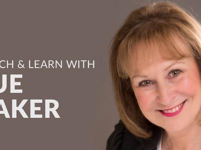 How to create a Marvellous Mixed Media Canvas with Sue Baker   Hochanda Masterclass