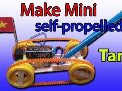 How to make a  Mini Tank DIY