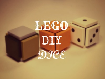 How To Make DIY LEGO Dice (Simple and Easy To Make)