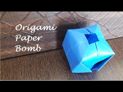 How to Make Paper Balloon (Water Bomb) | Origami