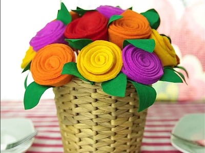 How to make roses using a CD● 5-Minute Crafts
