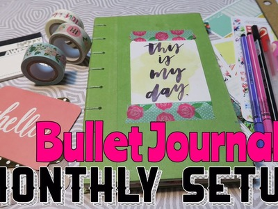 How to Setup a Bullet Journal. Monthly Setup in my BUJO | I'm A Cool Mom