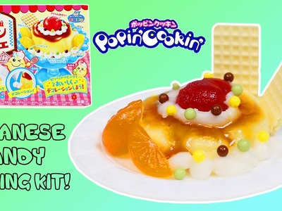 Kracie Popin Cookin Pudding Parfait Cherry Flan Cake Dessert DIY Japanese Candy Making Kit!