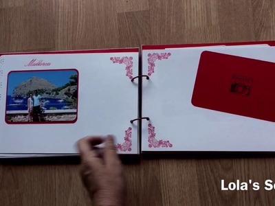 Libro de firmas Boda. Wedding guest book. DIY scrapbooking