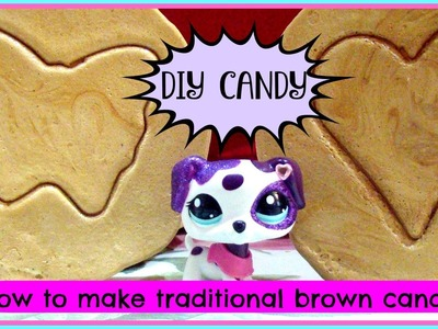 LPS: 2 Ingredient Candy! DIY Traditional Korean Candy! ♡