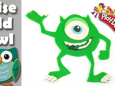 Mike Wazowski Monsters Inc cartoon characters DIY how to make favorite friends