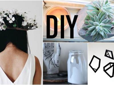 Minimalist Style DIY Room Decor (Tumblr.Aesthetic Inspired) | Natasha Rose