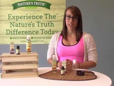 Nature's Truth - Massage Oil DIY