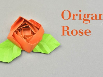 Origami Rose Instruction Easy | Creative DIY