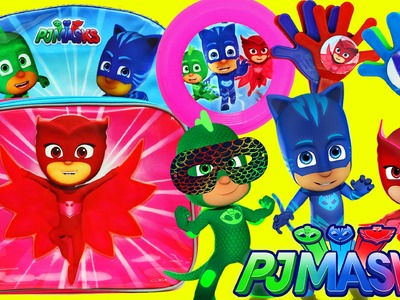 PJ MASKS Cartoon Toys & Surprises With Owlette, Gekko & Catboy + DIY Crafts DisneyCarToys