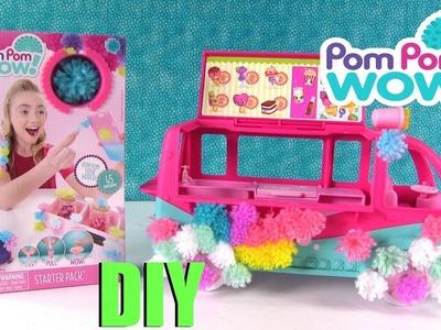 Pom Pom Wow Shopkins Food Fair Truck DIY Starter Pack | PSToyReviews