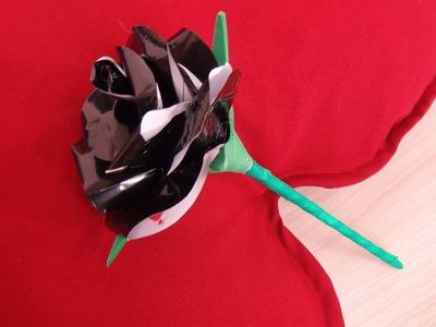 Recycled Plastic Flower - DIY
