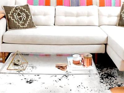 Small Apartment - Decorating with IKEA + DIY   Interior Design, Furniture